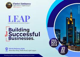 The ministry of christ embassy is one of the fastest growing indigenous churches in nigeria. Loveworld Enterprise Acceleration Program Leap 26 May 2018