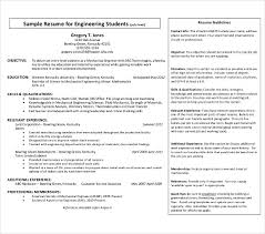 9+ Fresher Engineer Resume Templates - Pdf, Doc | Free & Premium ...