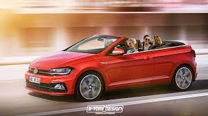 2018 volkswagen r. wonderful volkswagen 2018 volkswagen polo r and gti cabrio rendered to volkswagen r