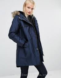 women s jackets coats oasis parka jacket with faux fur and leather look trim 928614