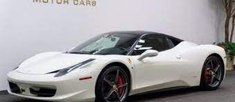 Used White Ferrari 458 Italia For Sale Near Me Edmunds