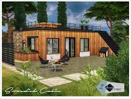 Small Picture Swedish Cabin Sims 4 Designs Sims 4 Lots Pinterest Sims