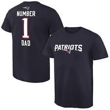 Number Dad Men's Line Pro England New T-shirt Nfl Navy Patriots 1