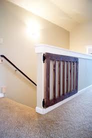 best  diy baby gate ideas on pinterest  baby gates diy gate
