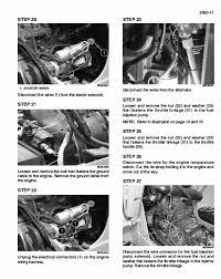 case 430 440 440ct repair manual skid steer compact tractor preview