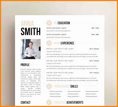 14 Inspirational Free Resume Templates Microsoft Word Resume