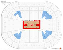 Kohl Center Wisconsin Seating Guide Rateyourseats Com