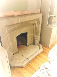 stone fireplace during cleaning brighton stone fireplace after cleaning brighton