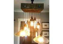rustic industrial chandelier wood beam chandelier reclaimed beam lamp cage industrial chandelier rustic wood beam chandelier