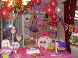 At 40 Party Decorations Barbie Party Party Decorations By Teresa