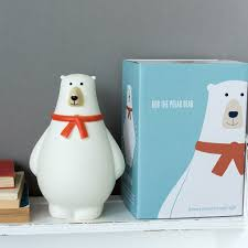Polar Bear Night Light Bob The Polar Bear Night Light In 2019 Night Light Polar