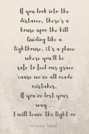 Light On Lyrics Leave A Light On Fantastica Canzone Di Tom Walker Dove L