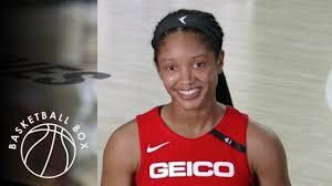 WNBA] Stella Johnson Post-Game Interview, Atlanta Dream vs Washington  Mystics, August 19, 2020 - YouTube