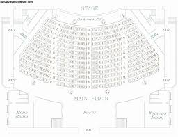 Chicago Theater Seating Chart Main Floor Best Of Folger