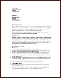 Loan Proposal Template Letter Format Mail Business Pla Cmerge