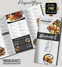 Restaurant Menu Template 15 Free Exclusive Menu Psd Templates For Cafes And