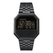 mens nixon watch nixon new mens re run watch all black bnwt