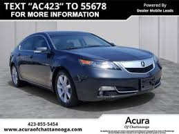 Pre Owned 2012 Acura Tl W Tech With Navigation