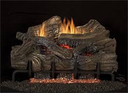 36 superior smokey mountain oak gas logs with glowing vent free gas burner embers lbg36 sm