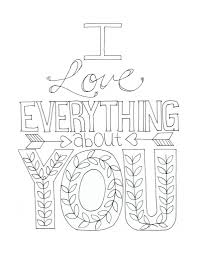 Small Picture I Love You Coloring Pages For Adults Wallpaper Download