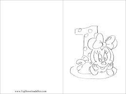 Coloring Pages 1st Birthday Coloring Pages Baby Mickey Mouse 1st