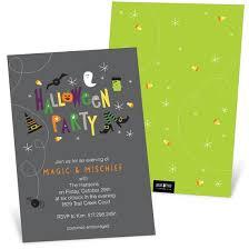 halloween invitations cards mischief halloween invitation