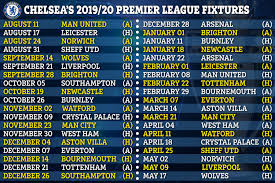 Chelsea Premier League fixtures 2019/20: Blues face tasty clash with Man  Utd on opening day