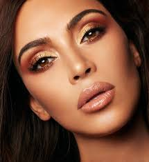 how much freedom did kim give you to create the shades you wanted she pretty much let s me do wver i want when it es to makeup