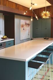 Frigo Design Metal Countertop 75 Beautiful Concrete Floor Kitchen With Granite Countertops