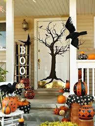 halloween front door decorations40 Cool Halloween Front Door Decor Ideas  DigsDigs
