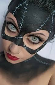 italian cosplayer as dc ics batwoman more information more information catwoman makeup tutorial
