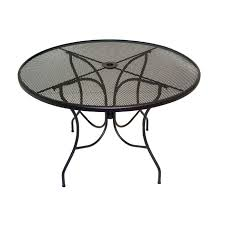 black mesh outdoor table designer tables reference