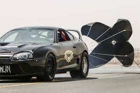 World's fastest Toyota Supra 346km/h (214mph@1/2 mile) - Qatar ...