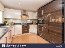 Floor To Ceiling Kitchen Designs Home Interior Modern Kitchen New Build Home White Units