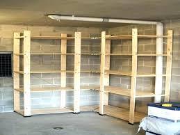 wood storage shelves build garage storage shelves heavy duty shelving unit overhead build garage storage shelves