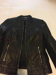 express women s faux leather jacket