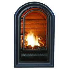 ventless liquid propane fireplace insert 20 000 btu procom heating