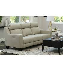 stanford leather reclining sofa