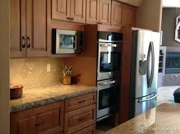 maple caramel kitchen cabinets from ridge bc