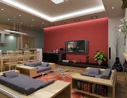 Excellent Small Tv Room Ideas And Design Living With Furniture Decor  Popular Interior For Amazing Red