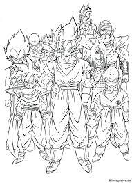 Dragon Ball Z Kleurplaat 106717 Kleurplaat