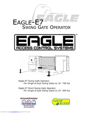 eagle access control systems. Modren Control Eagle Access Control Systems EagleE7 Instruction Manual With S