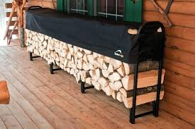 firewood rack plans covered with roof holder indoor diy