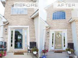 diy projects that seem like a slight change but really make a great difference our front exterior had become ped over time from full sun