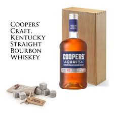 coopers craft bourbon gift set