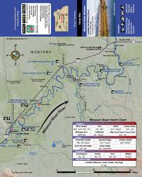 Missouri River Fishing Map