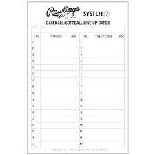Little League Roster Template Baseball Lineup Sheet Excel