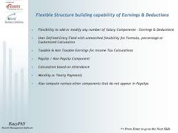 Sensys Easypay A Complete Payroll Management Software Ppt Download