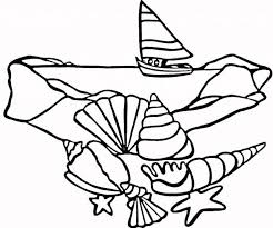 Small Picture Seashell Coloring Pages For Kids 13776 Bestofcoloringcom