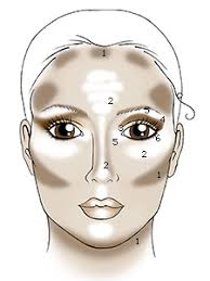 lines makeup you contouring face shape makeup makeup you apply you need to make sure you blend when you